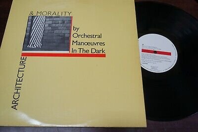 """Orchestral Manoeuvres in the dark - Architecture & Morality, LP 12 """" Spain 1981"""