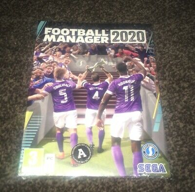 Football Manager 2020 (PC Mac) BRAND NEW AND SEALED