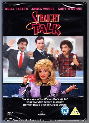Straight Talk DVD (Dolly Parton) Region 4 (AUS) New & Sealed