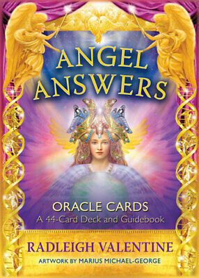 NEW Angel Answers Oracle Cards By Radleigh Valentine Card or Card Deck