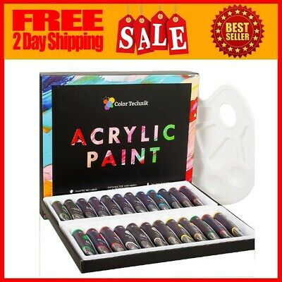 Acrylic Paint Set Drawing Painting Art Kit For Kids Teens Adults Professional US