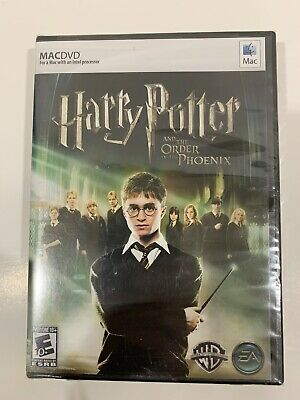 Harry Potter and the Order of the Phoenix Video Game Apple Mac 2007 New Sealed