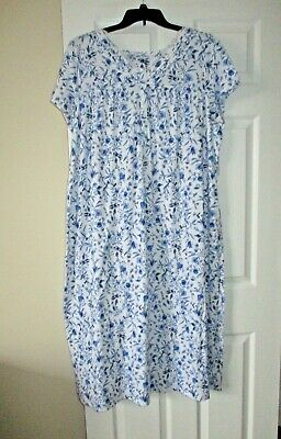 Croft and Barrow ballerina extra soft short sleeved nightgown plus size 1X