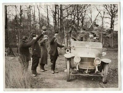 WWI Tommies Wish French Comrades Happy New Year Original News Photo
