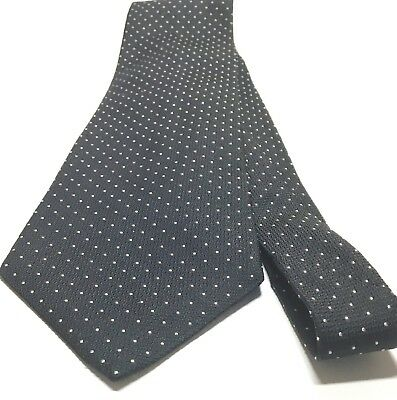And Broach Design Lines Black And White Abstract Tie Necktie With Dots
