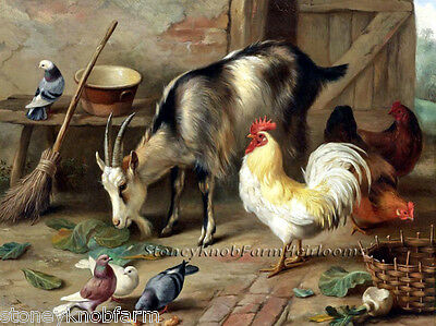 Barnyard ~ DIY Counted Cross Stitch Pattern Chickens /& Puppies ~ Dogs
