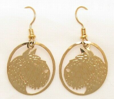Bouvier des Flandres Jewelry Wire Earrings by Touchstone