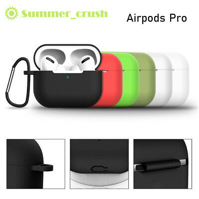 For Apple Airpods Pro Case Silicon Protective Cover Skin Holder AirPod 3 Case