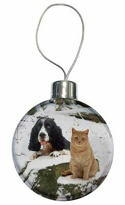 AD-BC12CB Blue Merle Border Collie Dog Christmas Tree Bauble Decoration Gift