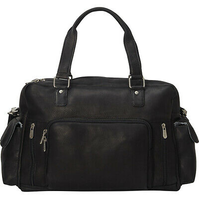 Piel Travelers Carry-On 2 Colors Travel Duffel NEW