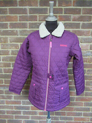 Regatta Great Outdoors Galloper Blackcurrant Girls Quilted Jacket 12 Years+