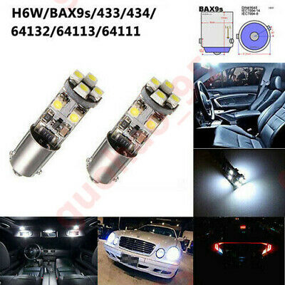 Citroen C1 MK1 8SMD LED Error Free Canbus Side Light Beam Bulbs Pair Upgrade