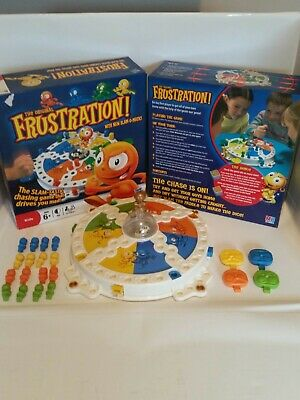 Frustration Re-Invention Board Game age 6+ 100% complete with mb hasbro