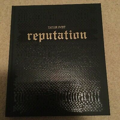 TAYLOR SWIFT REPUTATION Stadium Tour VIP Limited Edition HARDCOVER BOOK & frame