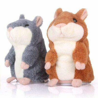 Cheeky Hamster Repeats What You Say Electronic Pet Talking Plush Toy E2