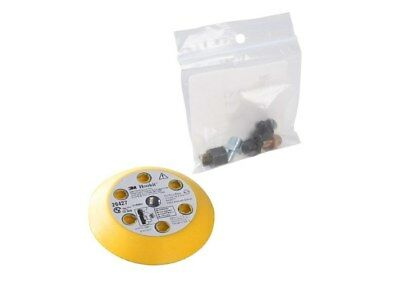 "3M Boat Marine Clean Sanding 3"" x 1/2"" Hookit Disc Pad Kit Includes 5 Adapters"
