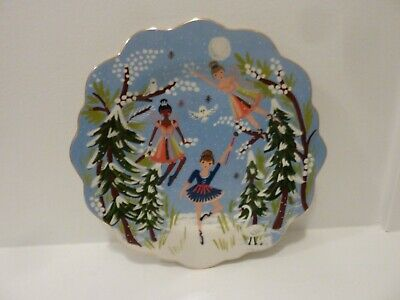 Sold Out~RIFLE Paper Co. for ANTHROPOLOGIE Nutcracker Salad Plate~NWT