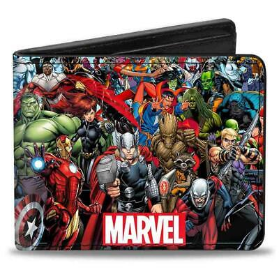 Marvel Universe Heores And Villains Bi-fold Wallet