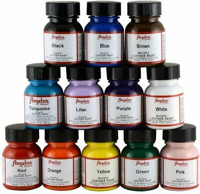 Angelus Acrylic Leather paint 1oz (29,5ml) - all colors