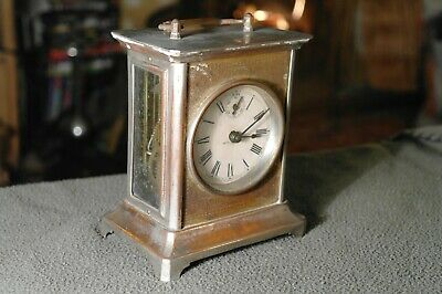Antique Seth Thomas Carriage Mantle Clock Mid-Late 19thC American Made Rqs Resto