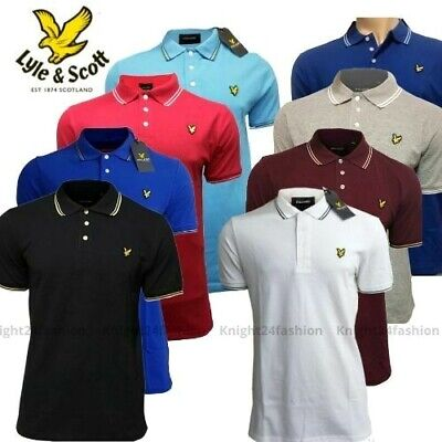 Lyle and Scott Classic Polo Shirt || Short Sleeve for Men's || 100% Cotton ||