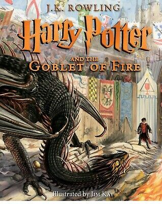 Harry Potter & The Goblet Of Fire --Brand New Illustrated Edition
