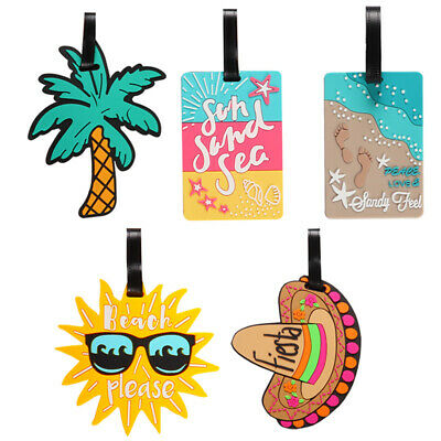 Luggage Tag Travel Suitcase Bag Id Tags Address Label Baggage Card Holder Acces