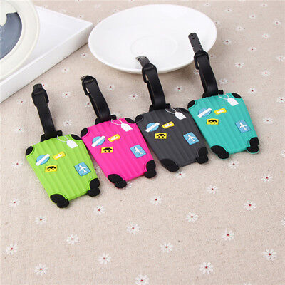 Suitcase Shape Travel Luggage Bag Tag Suitcase Baggage Office Name Address ID BS