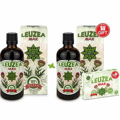 Leuzea carhtamoides liquid and tablets BUY one GET TWO GIFTS Holiday SALE