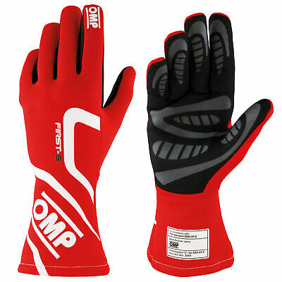 OMP First S Race / Rally FIA 8856-2018 Approved Gloves