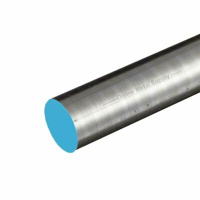 304 Rough Turned Stainless Steel Round Rod, 3.375 (3-3/8 inch) x 24 inches
