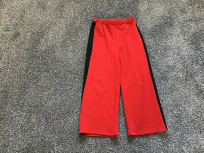 Girls River Island Straight Trousers Age 7-8 Yrs