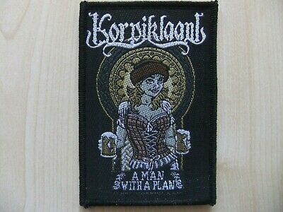 Korpiklaani A Man With A Plan Patch Mehrfarbig