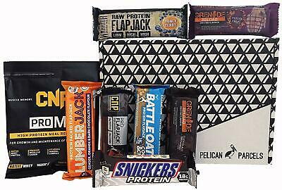Protein Selection Fitness Gift Box - Grenade Reload Flapjack, Gold Standard CNP