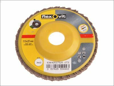 Flap Disc For Angle Grinders 115mm 40g FLV27525