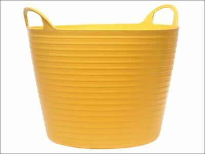 Heavy-Duty Polyethylene Flex Tub 42 litres Yellow FAIFLEX42Y