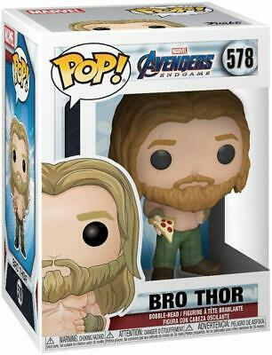 Funko Pop Marvel: Avengers Endgame - Bro Thor With Pizza Vinyl Figure