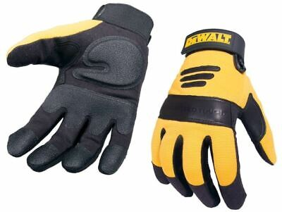 Synthetic Padded Leather Palm Gloves DEWPERFORM2