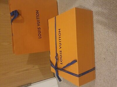 Louis Vuitton Large Magnetic Gift Box with Shopping Bag - 36 x 26 x 13cm