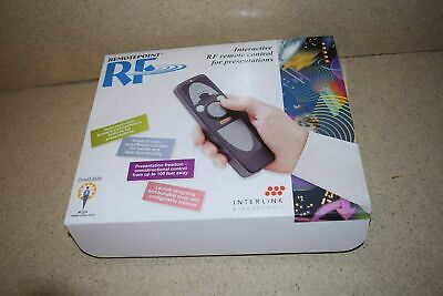 ^^ Interlink Electronics Remotepoint Rf Interactive Rf Remote Control (A1) - New