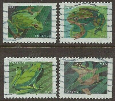 Scott #5395-98 Used Set of 4, Frogs (Off Paper)