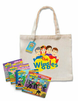 NEW Little Bookworms the Wiggles Book and Tote By The Wiggles Multi-Copy Pack