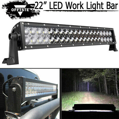 "24"" LED Work Light Bar Combo Bumper For Ford F150/250/350/450/550/650 Super Duty"