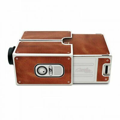 Mini Portable Cardboard Smart Phone Projector for Home Theater Projector V0