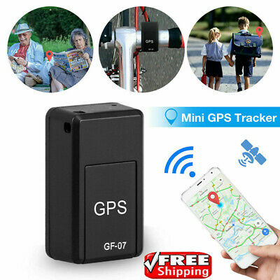 Magnetic Mini GPS Tracker Car Spy GSM GPRS Real Time Tracking Locator Device 7t