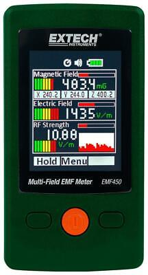 Extech Instruments Multi-field Emf Meter Magnetic Electric & Rf Field Strength
