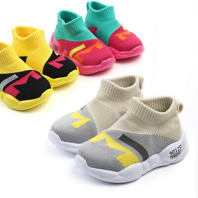 Toddler Infant Kids Baby Girls Boys Mesh Soft Sole Casual Sport Shoes Sneaker AU