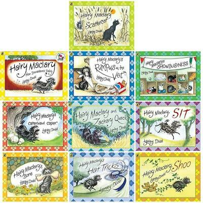 Hairy Maclary and Friends 10 Book Set Collection by Lynley Dodd