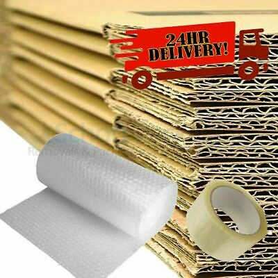 20 x Large Double Wall Moving Boxes Cardboard Box Removal Packing Shipping