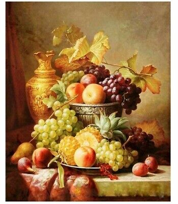 Picture DIY Painting By Numbers Fruit Wall Hand Painted Acrylic Home Decor Arts